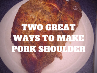 make pork shoulder