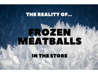 frozen meatballs store