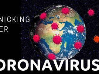 panicking over coronavirus