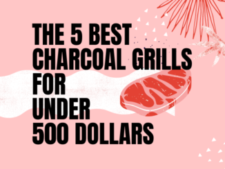 best charcoal grills under 500
