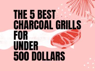 best charcoal grills under 500
